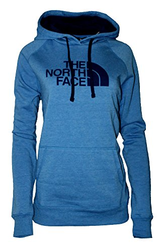 The North Face Women's Half Dome Pullover Hoodie Light Blue Heather/Estate Blue ()