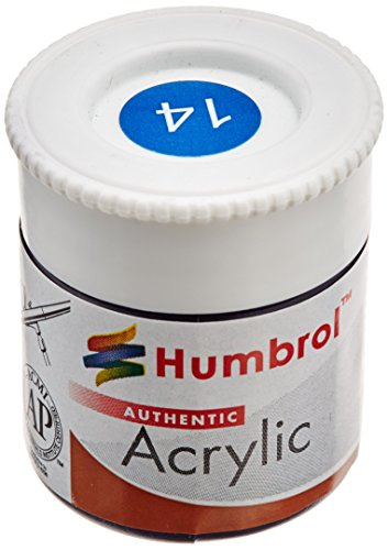 Humbrol Acrylic Paint, French Blue