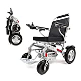 Porto Mobility Ranger D09-S, No.1 Best Rated Exclusive Portable Power Wheelchair, Lightweight, Foldable, Heavy Duty, Dual Battery, Dual Motor Electric Wheelchair - 18.5