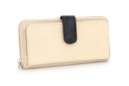 Leather Erin (FREE ENDEARMENT - WALLET - Erin (bone))