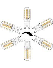 G9 Dimbaar LED Lamp Ledlampen Warm Wit 2700K Wowatt 5W Vervangt 40W Halogeenlamp 230V 420LM 360° Stralingshoek Pinbasis Geen Flikkeren 6 Stuks