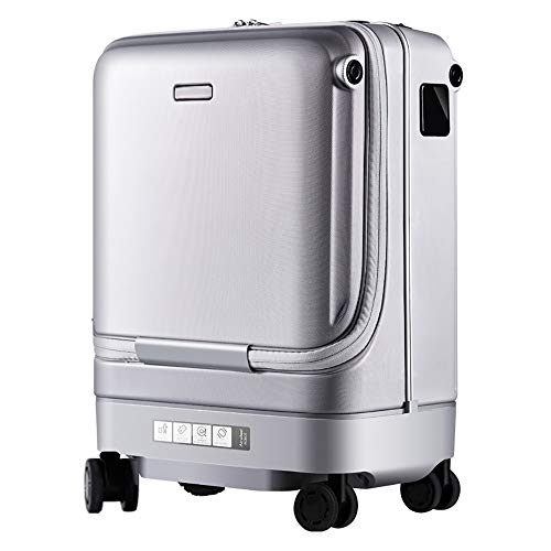 Fashion Trolley Case Smart Suitcases Automatically Follow Trolley Case Anti-Lost Alarm Travel Suitcase Electric Luggage…