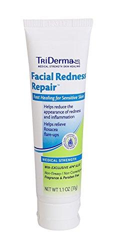 TriDerma Facial Redness Repair Helps Reduce Rosacea Flare Ups (1.1 (Triderma Facial Redness Repair)