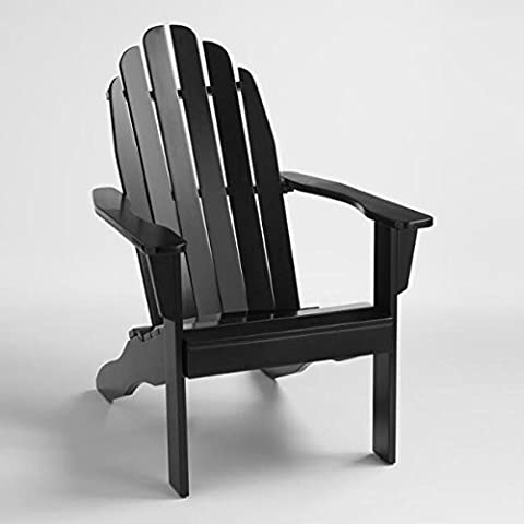 All Weather Adirondack Chair Wooden Furniture for Conversations on Deck Patio Outdoor Garden Poolside Beach (1, Classic - Classic Spring Club Chair Frame