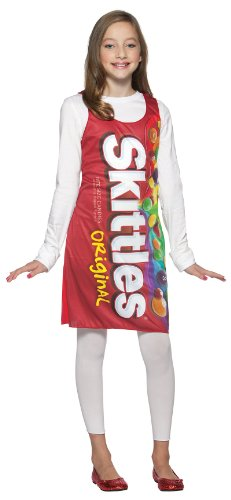 Rasta Imposta Skittles Tank Dress, Red, Teen 13-16 - Candy Wrapper Costume