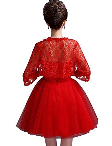 Drasawee Drasawee Damen Kleid Bandeau Rot Bandeau Damen TvFrTnHq