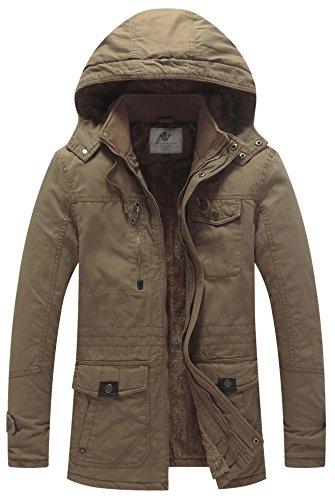 winter windbreaker thicken jacket