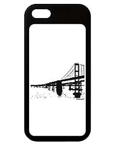 TooLoud Bay Bridge Cutout Design iPhone 5 / 5S Grip Case