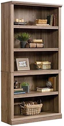 Bowery Hill Contemporary 5 Shelf Bookcase