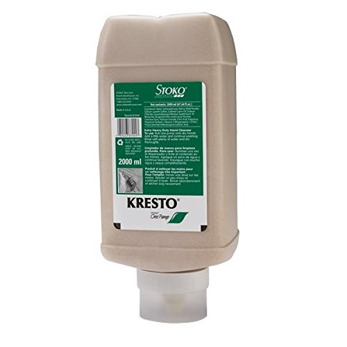 Deb Group Kresto Extra Heavy Duty Cleanser, 2000 mL Pump Bottle (12 Pack) by Stoko