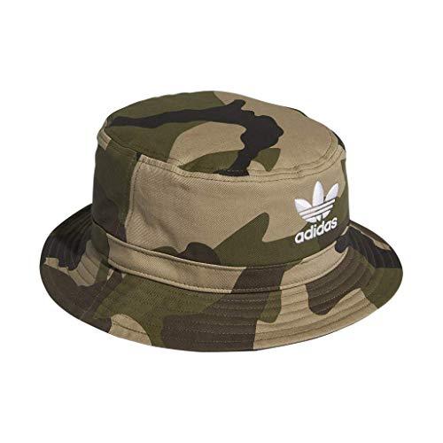 dc0e1bc6b8c27 adidas Men s Originals Camo AOP Bucket Hat