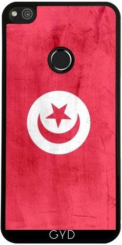 Funda de silicona para Huawei P8 Lite 2017 - Bandera De Túnez by wamdesign