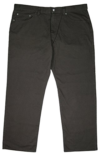 Kirkland Signature Mens Bedford Cord Pant (Size 40 X 30, Color Chocolate)