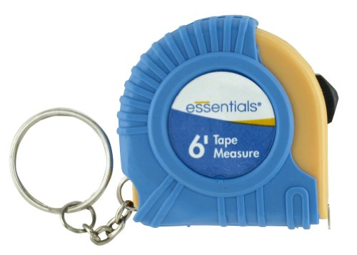 GreatNeck 21008 Essentials Keychain 6-foot Tape (Neck Chain Measures)