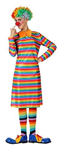 Atosa- Disfraz payasa Rayas, M-L (7385): Amazon.es: Juguetes y ...