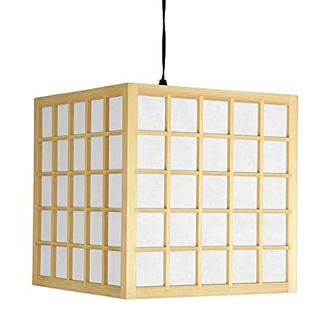 buy online 0f2dd 3f6b5 Oriental Furniture Portable Shoji Ceiling Light Swag Lamp ...