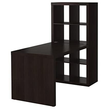 Ikea Expedit Desk and Bookcase Cube Display - ikea cube table