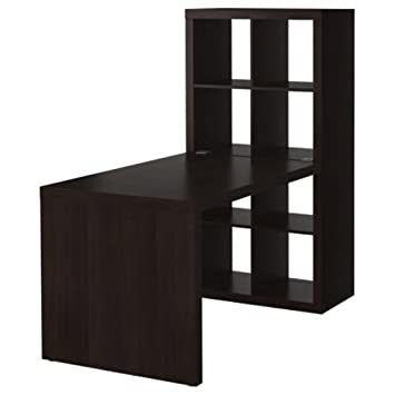 Amazon Com Ikea Expedit Desk And Bookcase Cube Display