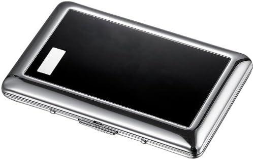 Visol Cheren Black Double Sided Business Card Holder (VCM509)