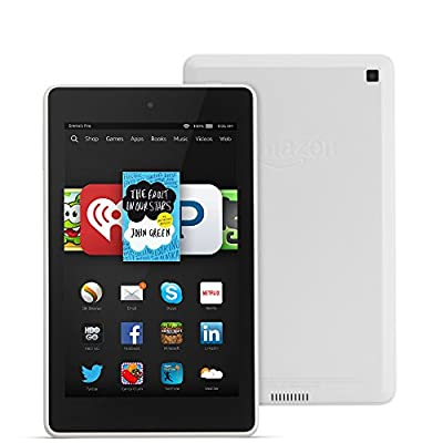 "Fire HD 6, 6"" HD Display, Wi-Fi, 8 GB - Includes Special Offers, White"