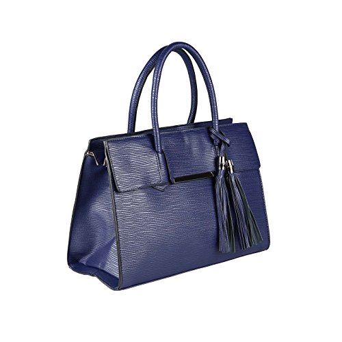 OBC Only-Beautiful-Couture - Bolso al hombro para mujer azul azul oscuro ca.: 35x26x15 cm (BxHxT)