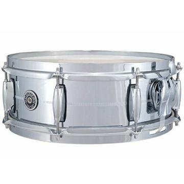 ?Brooklyn? Chrome over Brass 5?x14? Snare Drum