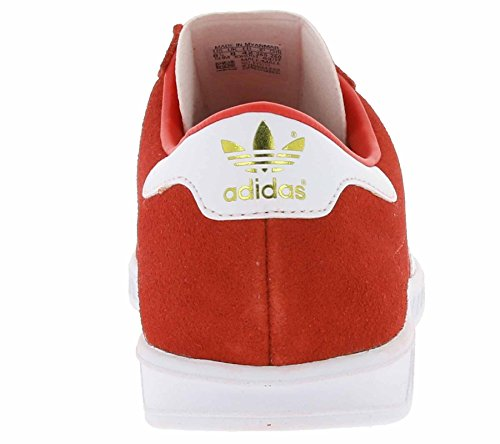 adidas Hamburg, Zapatillas para Hombre Rojo (Red/footwear White/gold Metallic)
