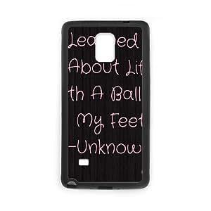 Football CUSTOM Cell Phone Case for Samsung Galaxy Note 4 LMc-68874 at LaiMc