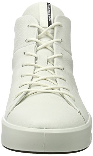 ECCO Sneaker 1007 Ladies White Bianco Soft Alte 8 Donna qStrSxU