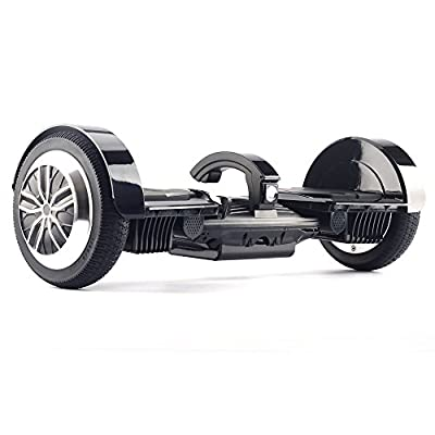 """UL2272 Certified Smart Self Balancing Hoverboard with Dual Mainboard Dual Bluetooth Speakers and Smart LED Light 7.5"""" Wheels K5 - Black from Dongguan Jomo Electronic Co Ltd"""