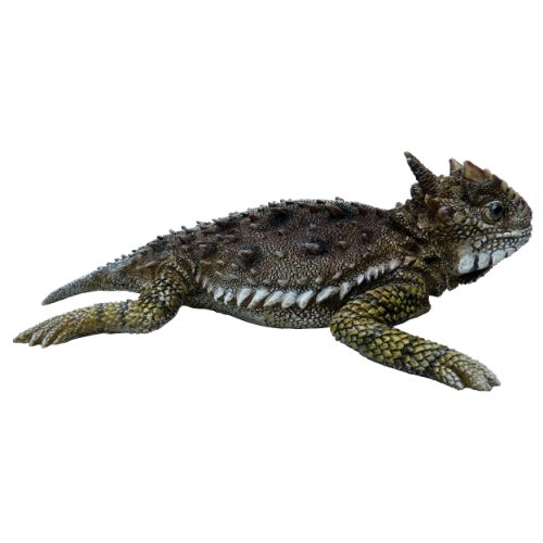 Michael Carr Designs 80041 Horned Toad Outdoor Statue