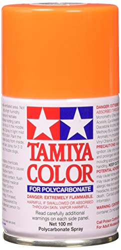 Tamiya 86024 Paint Spray, Fluorescent Orange