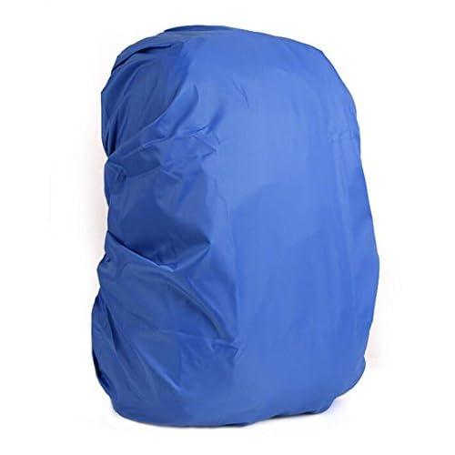 QILENE Mochila impermeable para acampada, senderismo, para mochila (azul)
