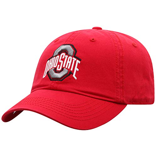 NCAA Ohio State Crew Adjustable Hat, Red