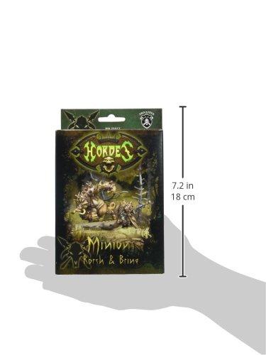 Privateer Press - Hordes - Minion: Lesser Warlock Rorsh & Brine Model Kit 5