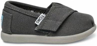 Infant Baby Espadrille Shoe - Ash Grey