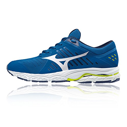 Mizuno de Wave Homme Running Blue Stream Chaussures w1qRz