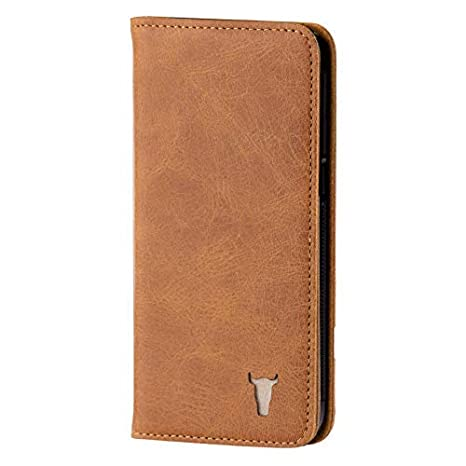 Premium USA Tan Leather Stand Case for Samsung Galaxy S7 Edge by: Amazon.es: Electrónica
