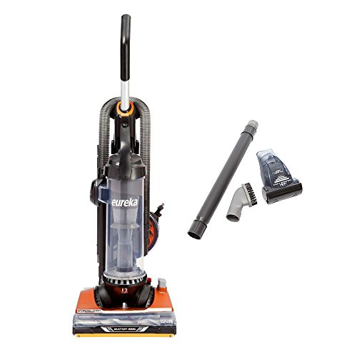 Eureka Brushroll Clean Pet Upright Vacuum with Suction Seal Technology AS3401AX - Corded