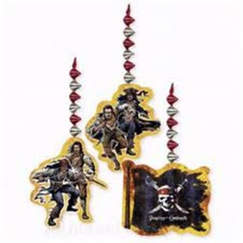 Pirates of the Caribbean Hanging Swirl Decoration (3ct)