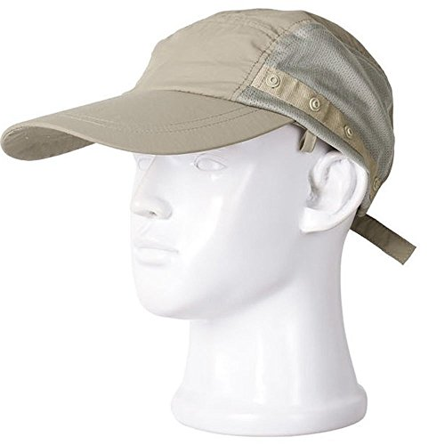 b236679d907 HOVEOX UV 50+ Sun Protection Fishing Flap Hat Neck Protection Cap with Removable  Sun Shield