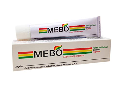 - MEBO Burn Cream Skin Ointment Wound & Scar Care Fast First Aid Health Beauty Care (1 Tube = 15 grams)