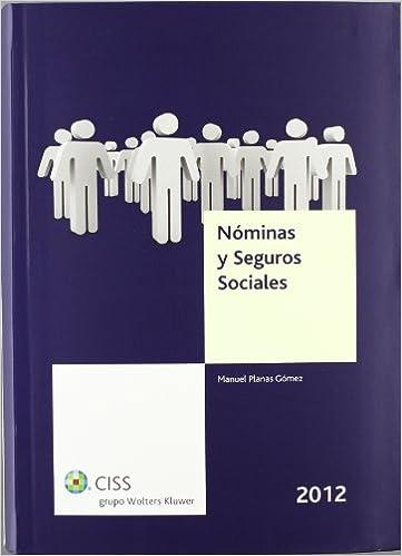 Nóminas y seguros sociales 2012