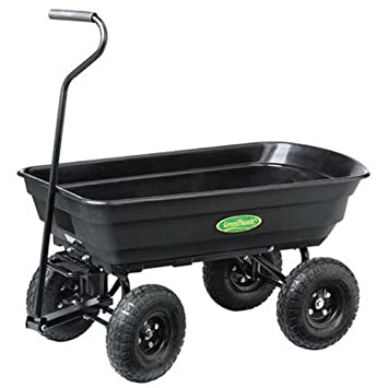 Green Thumb GT200-TV Poly Dumping Garden Cart