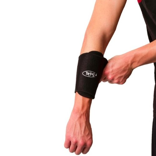 Wholesale Black Arm Support Brace Adjustable Flexible Neoprene Band Velcro Unisex by MyProSupports for cheap