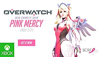 Overwatch Xbox One edition Pink Mercy skin