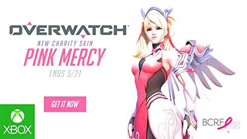 Overwatch Xbox One edition Pink Mercy skin