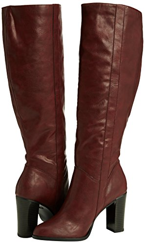 Femmes On Disoronno 62 New Montantes Bottes Pull Rouge rouge Pour 70's Look 84wwxfgp