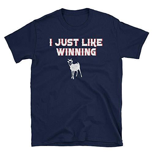 I Just Like Winning Brady Goat T-Shirt Patriots Superbowl 53 Shirt ()