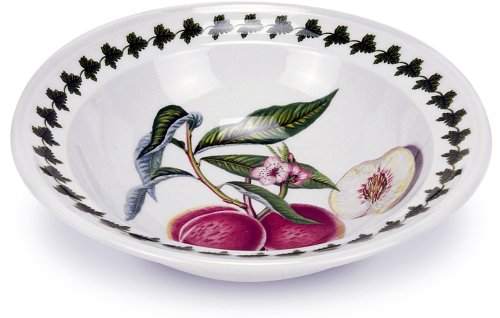 Portmeirion Pomona Oatmeal Soup Bowl, Set of 6 Assorted Motifs
